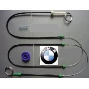 BMW E39 serii 5 4/5D Zestaw kpl przód L ELE